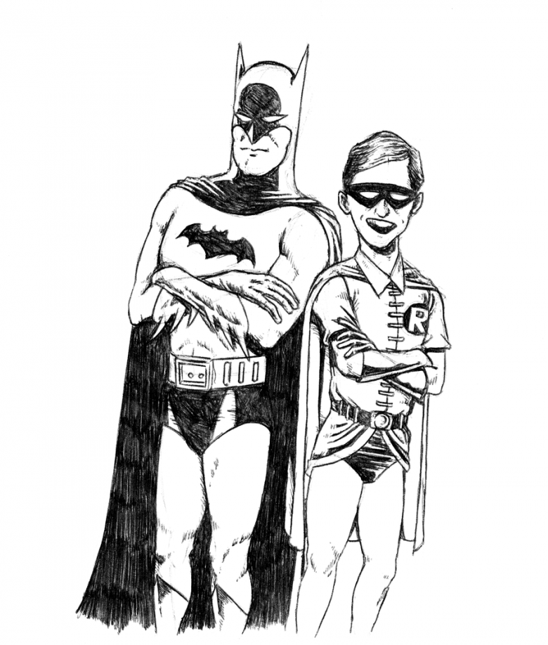 coloriage batman coloriage gratuit
