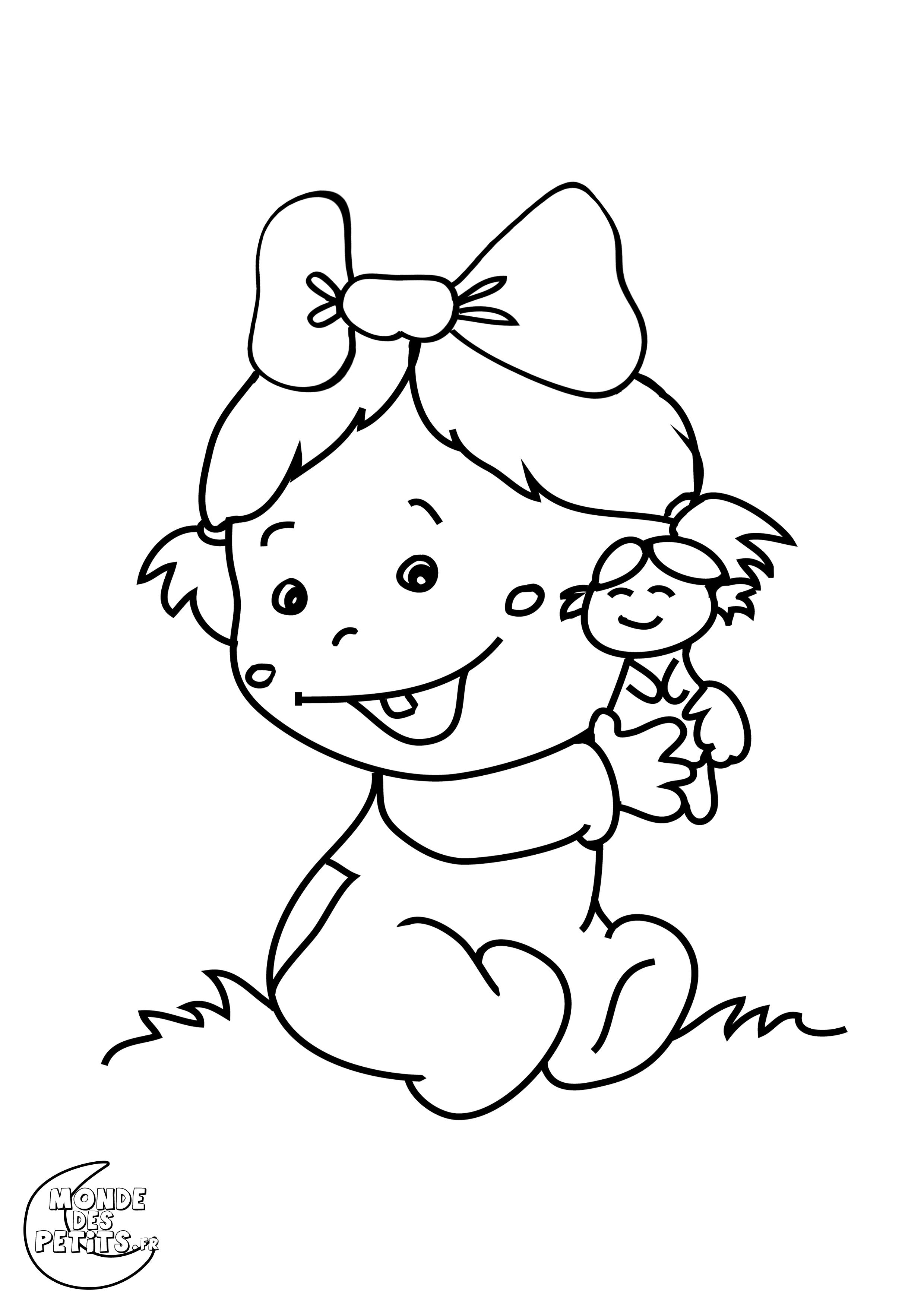 dessin 14783 coloriage bb