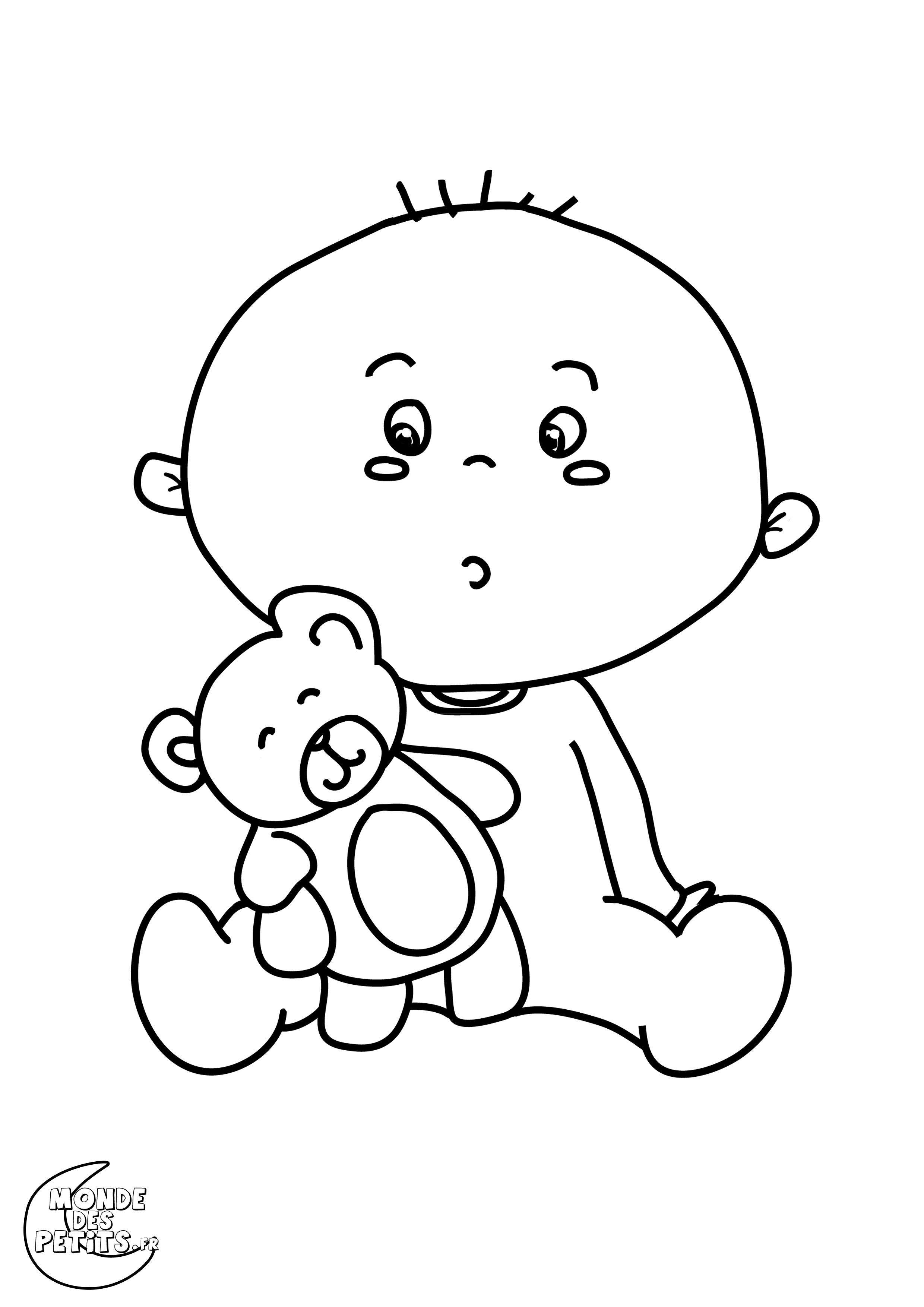 Dessin Beau dessin de bébé a imprimer