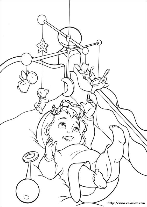 Coloriage Enfant Qui Range Sa Chambre : Dessins de coloriage bébé à imprimer sur laguerche