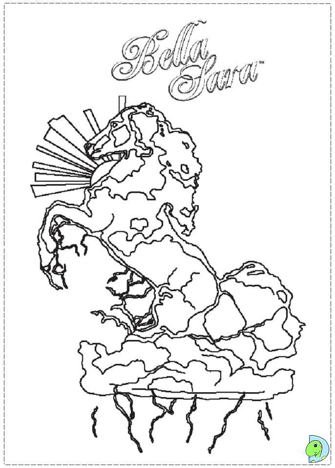 51 dessins de coloriage bella sara imprimer sur page 4 - Coloriage bella sara ...