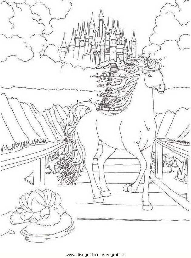 51 dessins de coloriage bella sara à imprimer sur