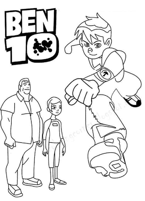 78 dessins de coloriage ben 10 imprimer sur page 4 - Coloriage ben 10 ...