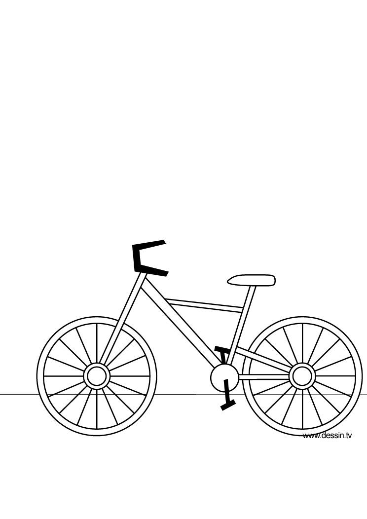 Coloriage Velo.31 Dessins De Coloriage Bicyclette A Imprimer Sur Laguerche Com Page 1