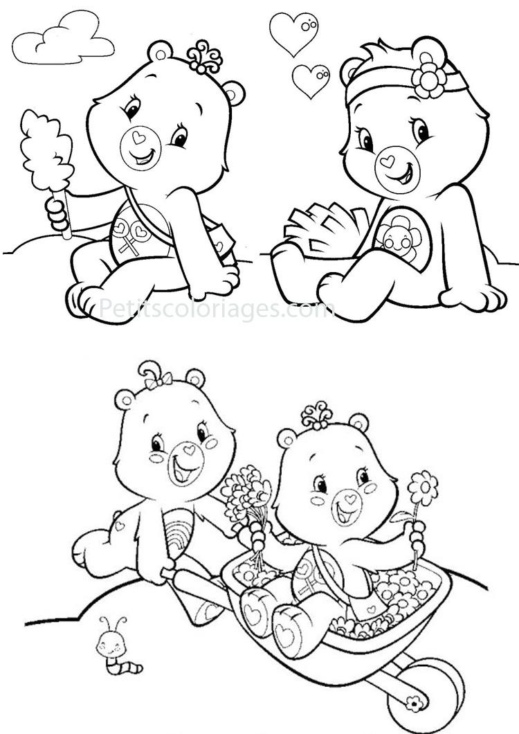 146 dessins de coloriage bisounours imprimer sur - Dessin de bisounours ...