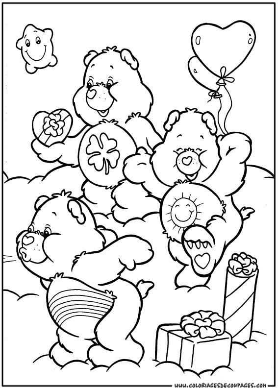 146 dessins de coloriage bisounours imprimer sur page 13 - Bisounours coloriage ...