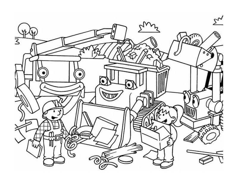 97 dessins de coloriage bob le bricoleur imprimer sur - Bricoleur dessin ...