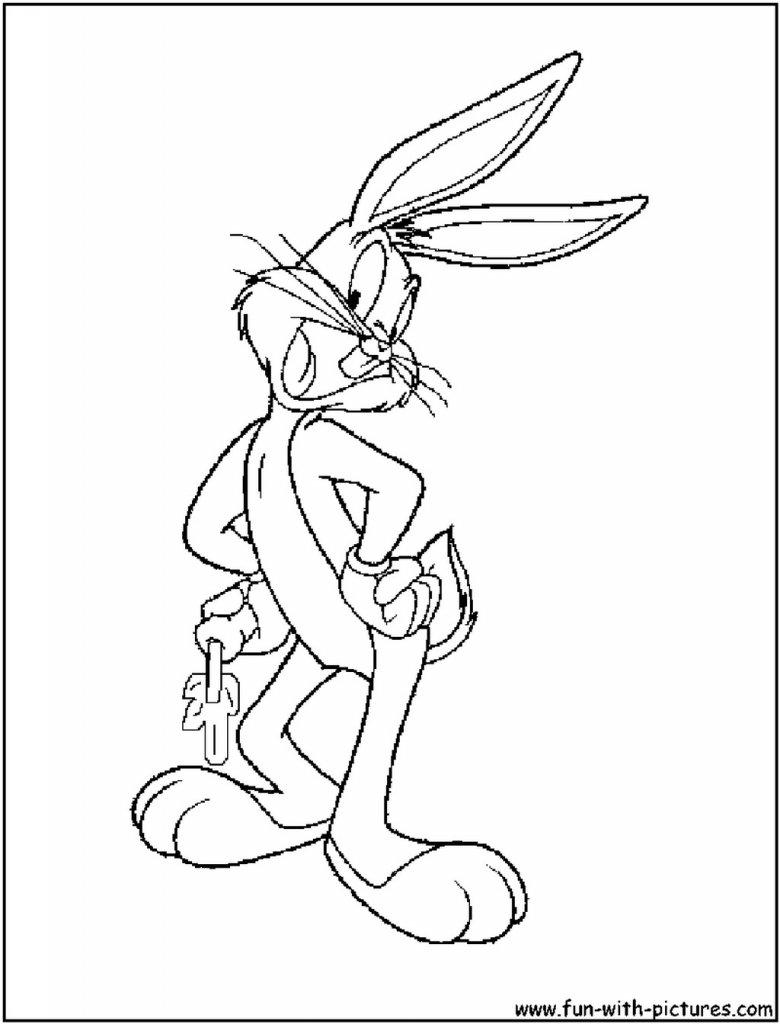Erfreut Bugs Bunny Druckbare Malvorlagen Zeitgenössisch ...