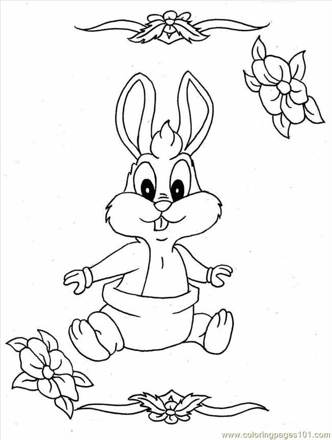 Coloriage bugs bunny gratuit a imprimer