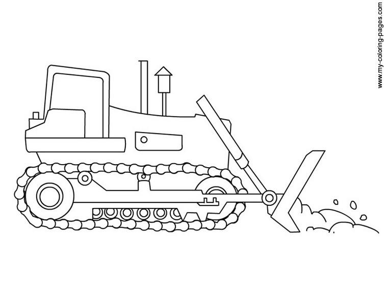 24 dessins de coloriage bulldozer à imprimer sur LaGuerche ...