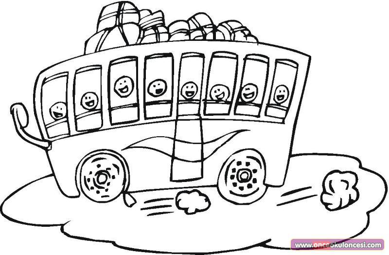 dessin 16018 dessin de bus enfant gratuit a imprimer et colorier