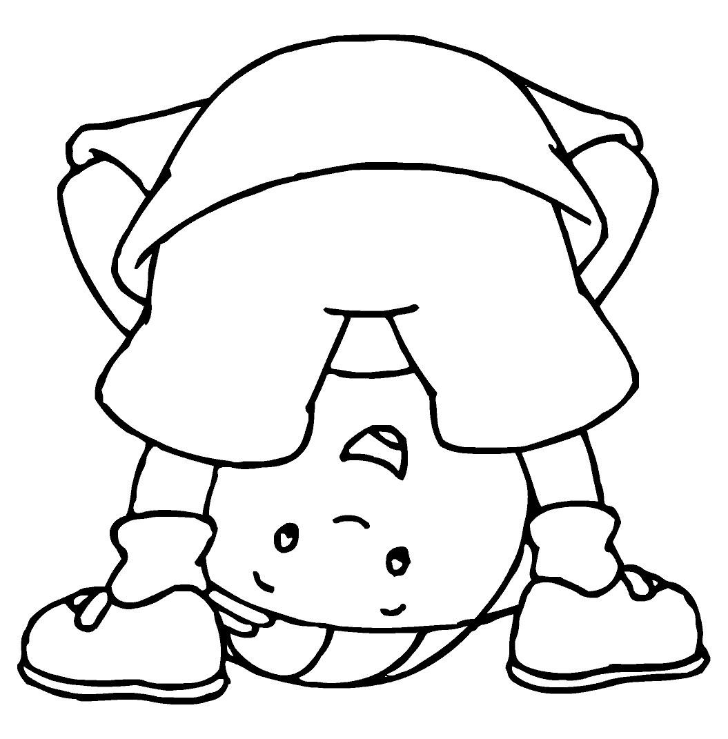 Coloriage caillou gratuit - dessin a imprimer #12