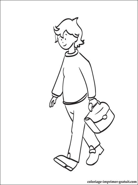 Coloriage caillou gratuit - dessin a imprimer #120