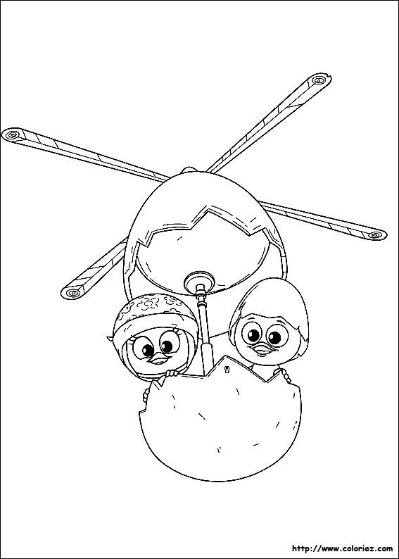 Coloriage calimero gratuit - dessin a imprimer #115
