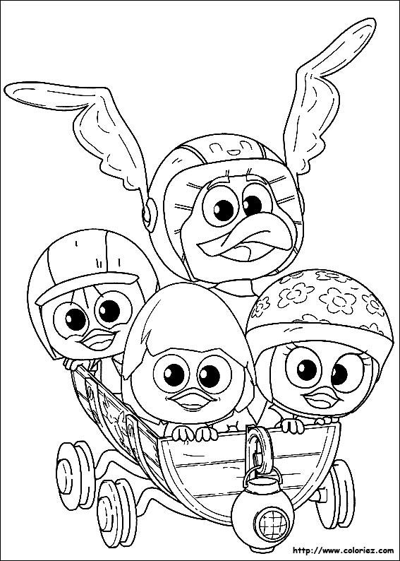 Coloriage calimero gratuit - dessin a imprimer #141