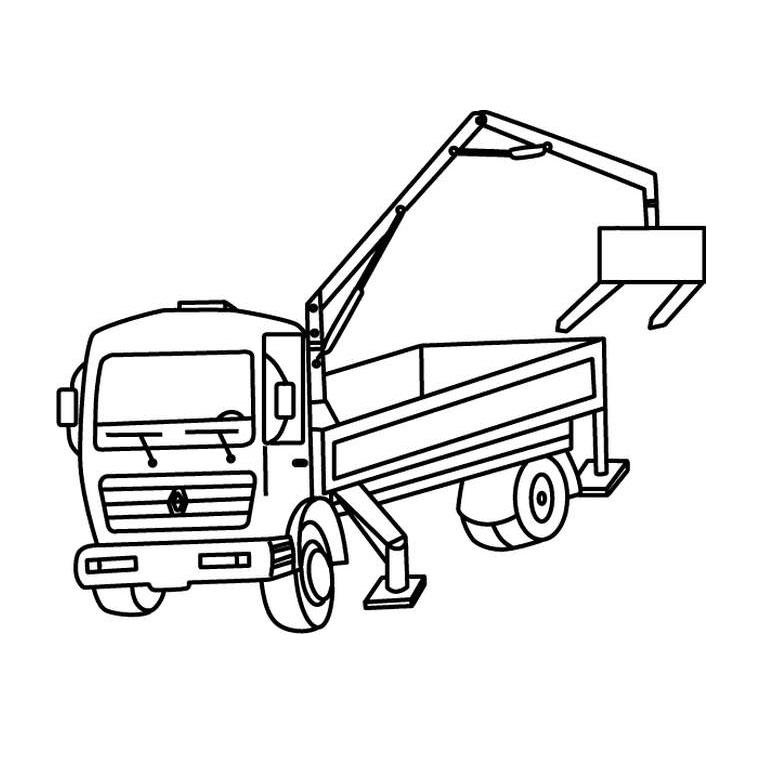s lection de dessins de coloriage camion imprimer sur page 1. Black Bedroom Furniture Sets. Home Design Ideas