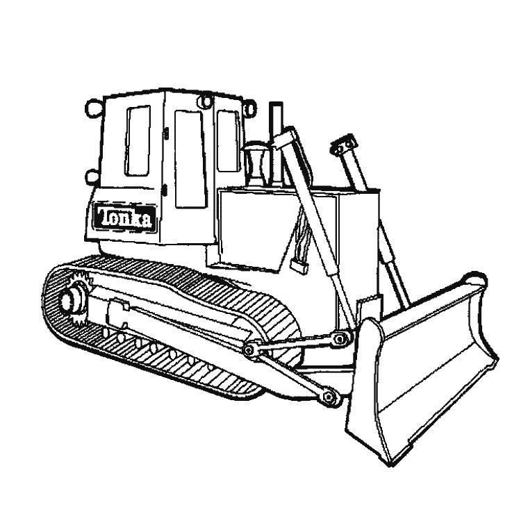 Sélection de dessins de coloriage camion à imprimer sur ...