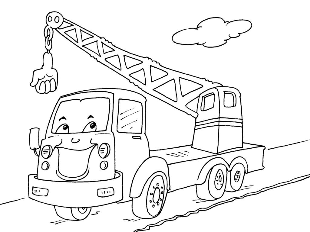 Coloriage Camion Pompier Facile.Camion De Pompier Dessin A Imprimer