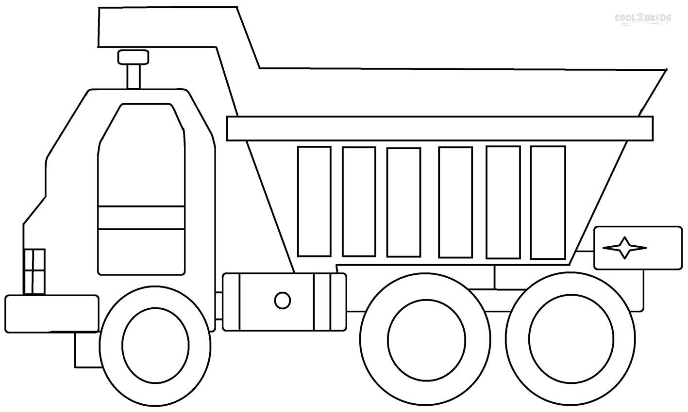 Dessin Camion Benne Coloriage.34 Dessins De Coloriage Camion Benne A Imprimer Sur Laguerche Com