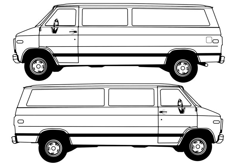 Coloriage Camionnette.17 Dessins De Coloriage Camionnette A Imprimer Sur Laguerche Com