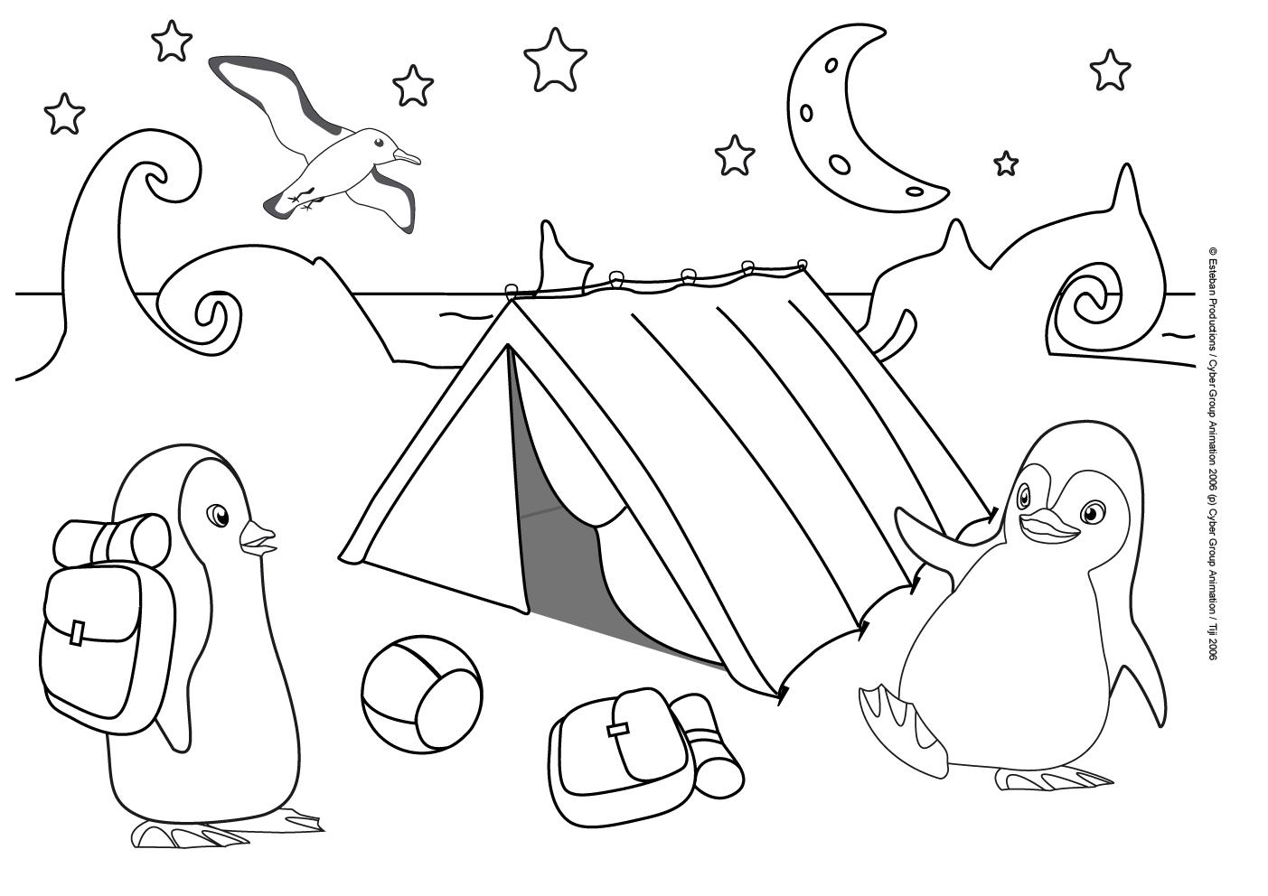 50 dessins de coloriage camping imprimer sur page 3 - Dessin a colorier camping car gratuit ...