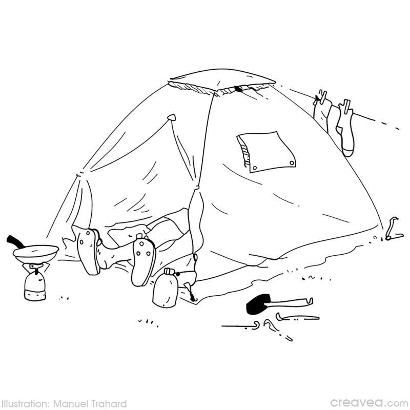 coloriage vacances à la montagne idées et conseils coloriage