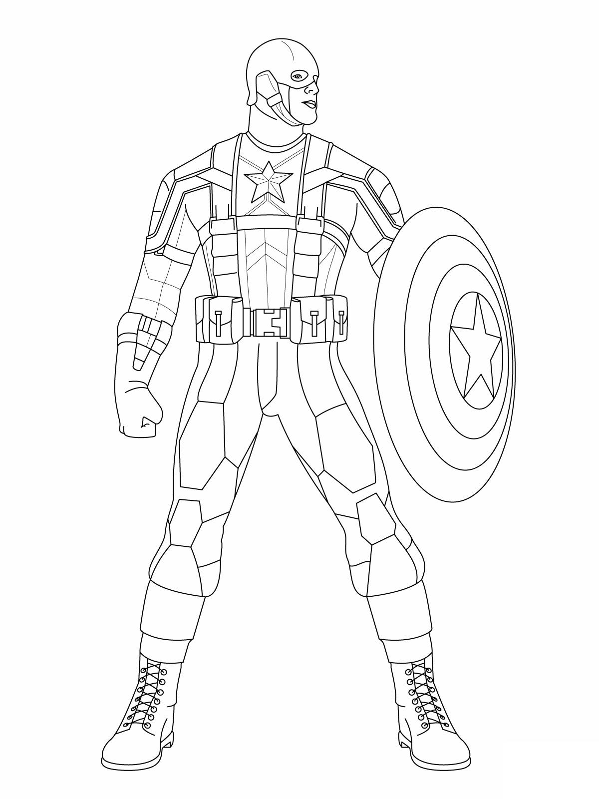 gratuit à imprimer captain america dessins à colorier hm dessins à colorier