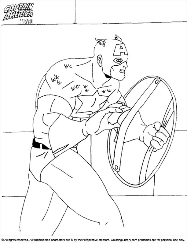 captain america dessin à colorier back to captain america coloriage