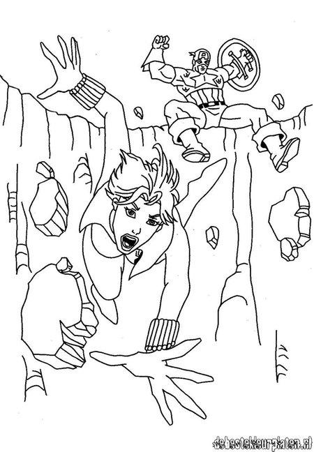 captain america avengers dessins à colorier pour enfants disney coloriage