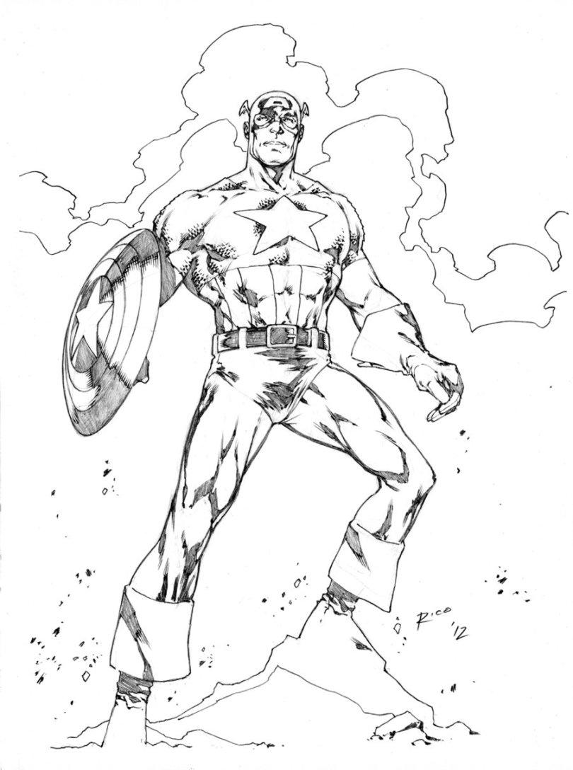 captain america dessin à colorier dessins à colorier
