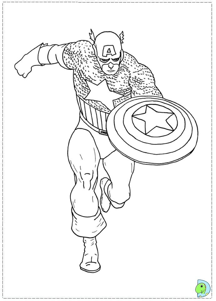 captain america dessins à colorier captain america dessin à colorier