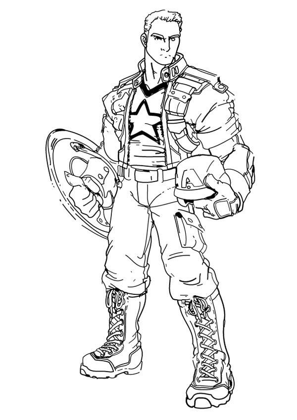 captain america colori