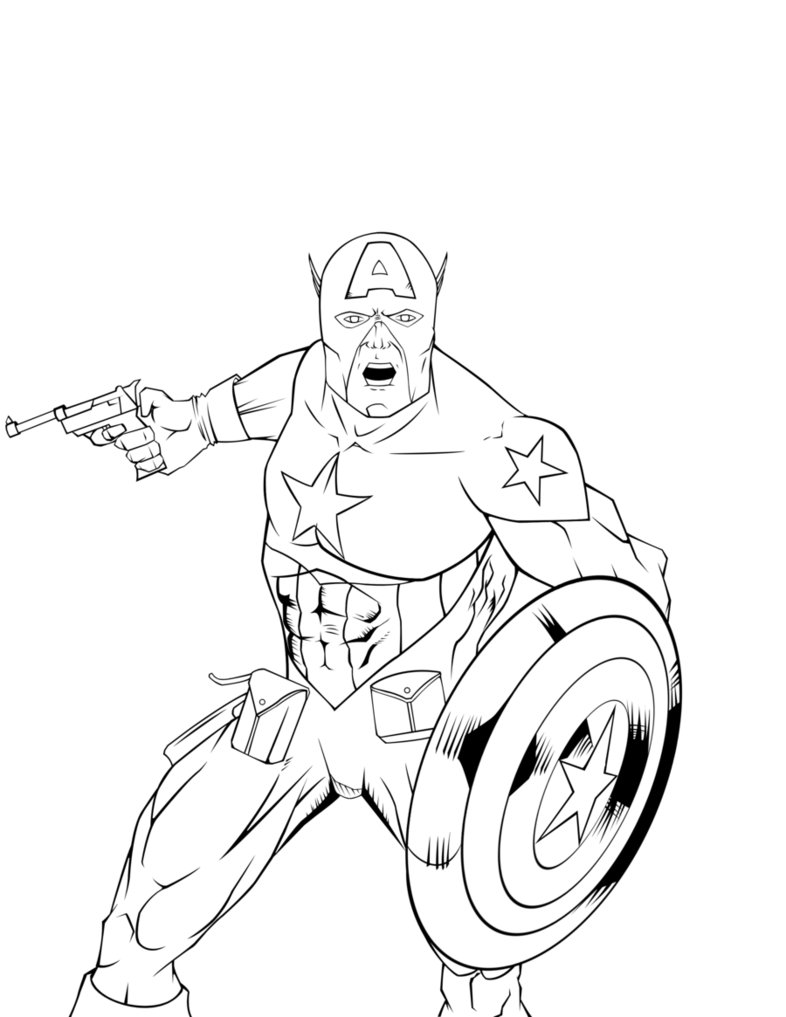 captain america dessins  colorier captain america coloriage book pages