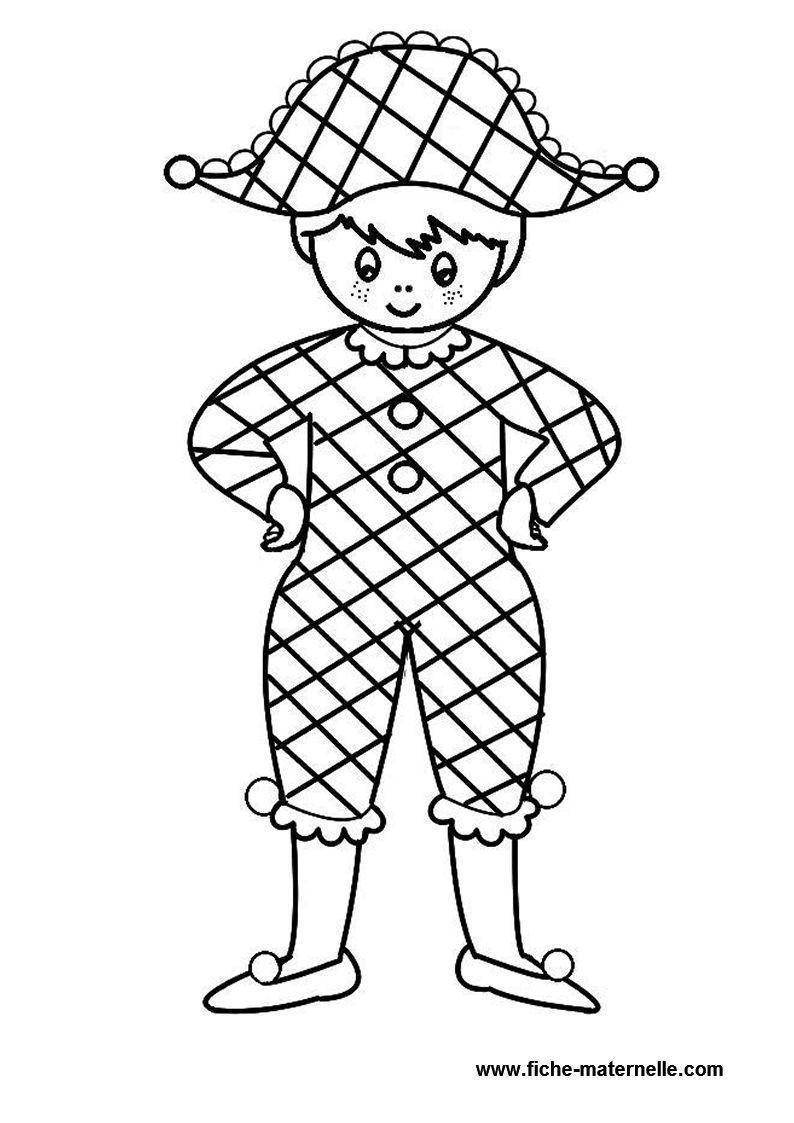 S lection de dessins de coloriage carnaval imprimer sur - Image coloriage ...