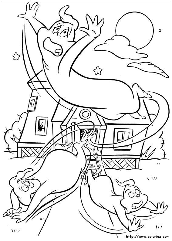 Coloriage casper gratuit - dessin a imprimer #73