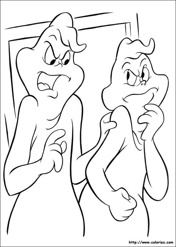 Coloriage casper gratuit - dessin a imprimer #77