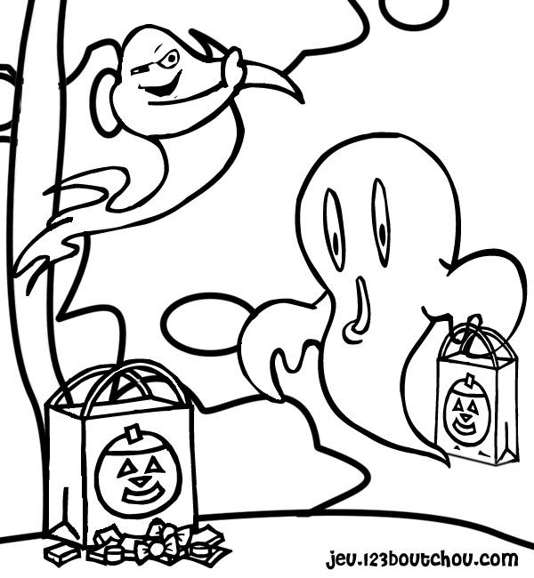 Coloriage casper gratuit - dessin a imprimer #89
