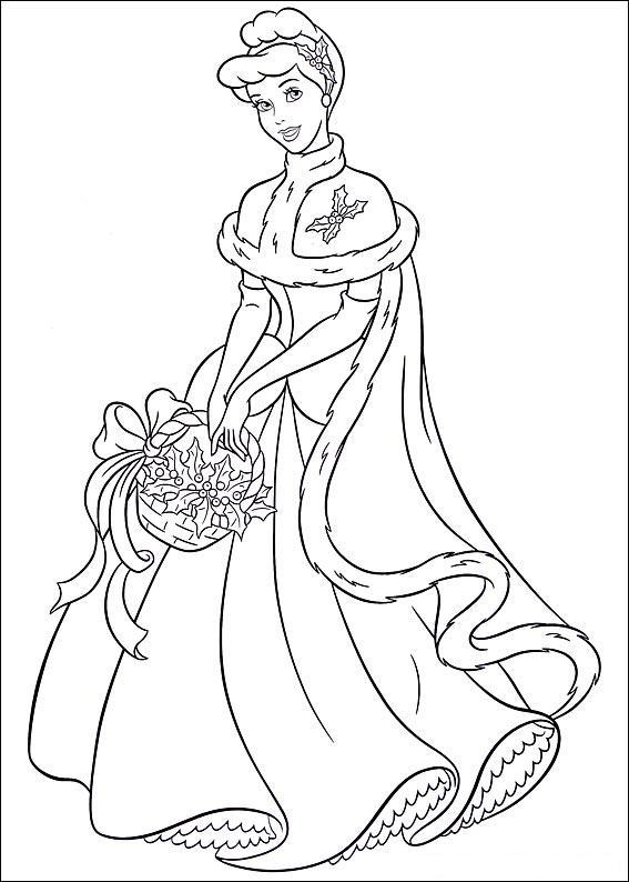 S lection de dessins de coloriage cendrillon imprimer sur page 7 - Coloriage cendrillon en ligne ...