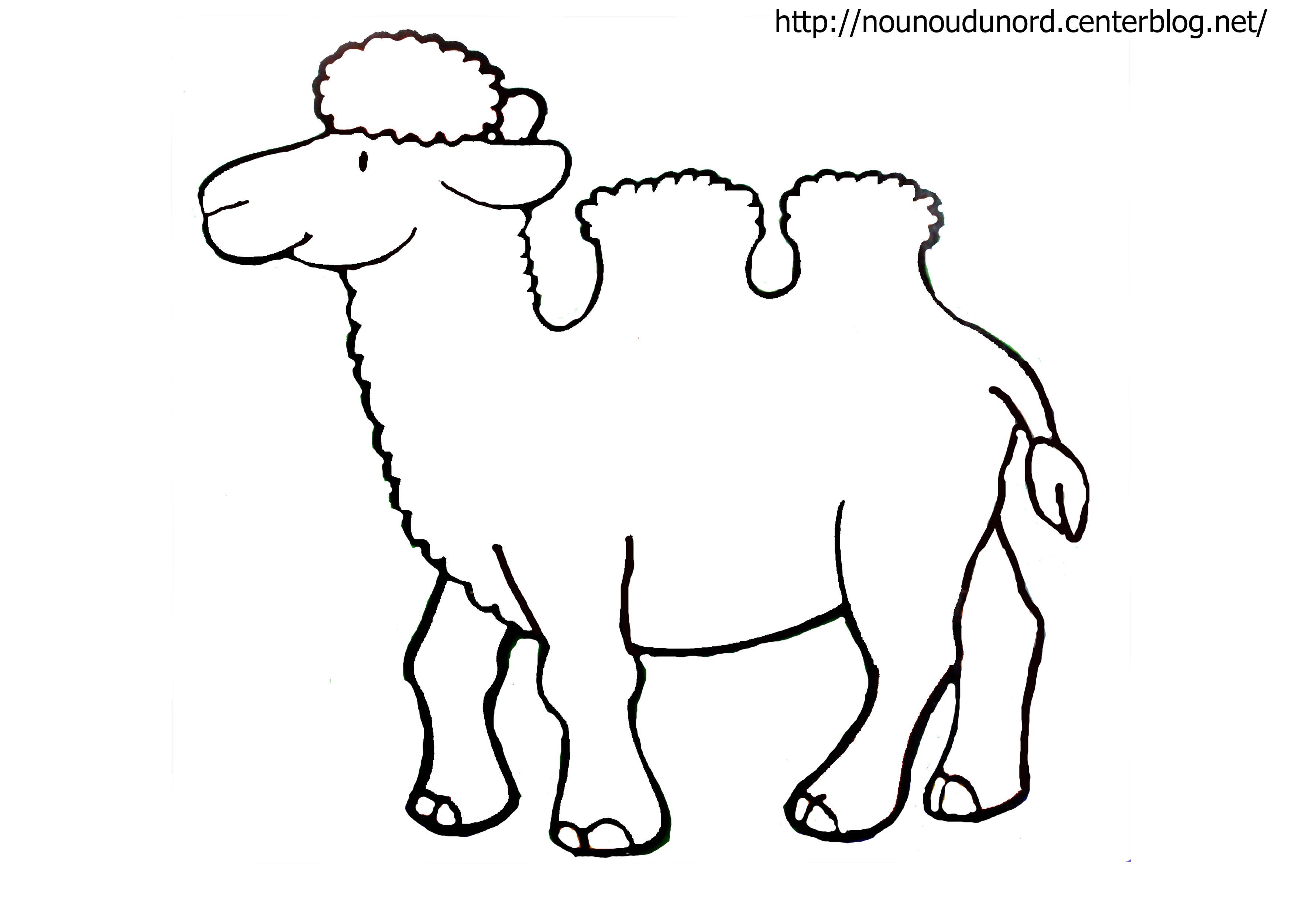 S lection de coloriage chameau imprimer sur laguerche - Dessin de chameau ...