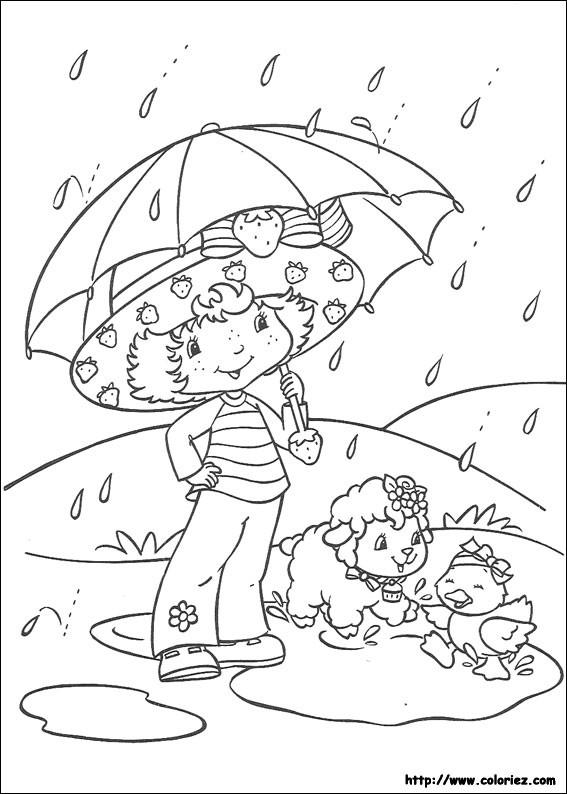 Coloriage charlotte aux fraises gratuit - dessin a imprimer #124