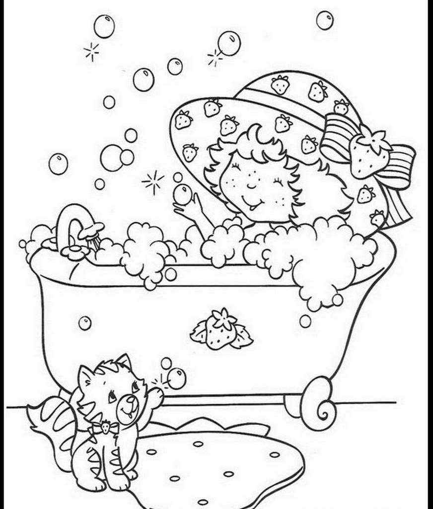 Coloriage charlotte aux fraises gratuit - dessin a imprimer #14