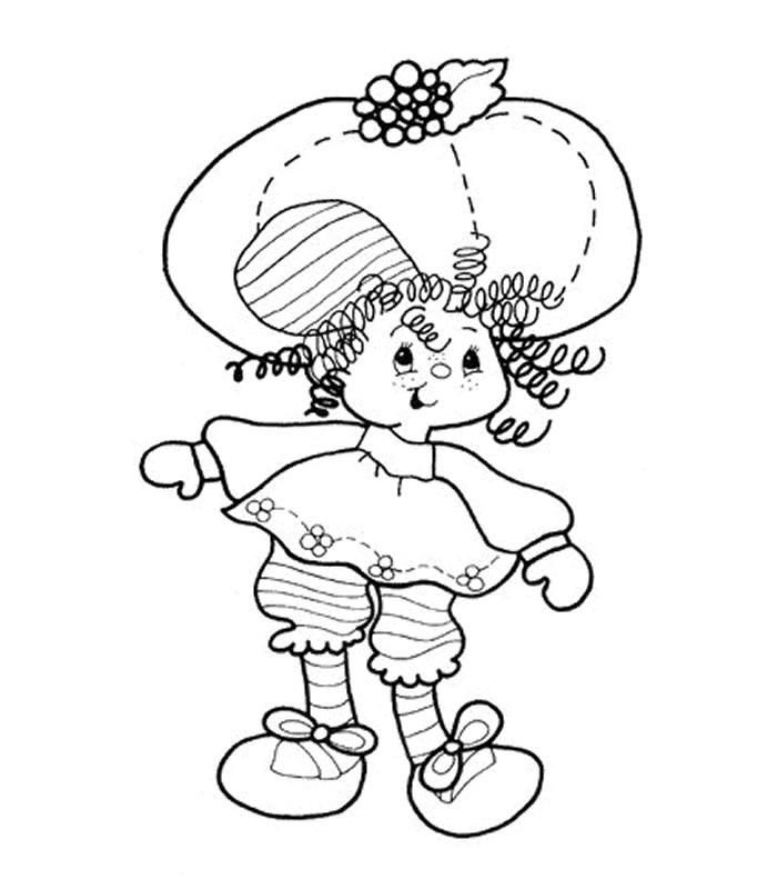 Coloriage charlotte aux fraises gratuit - dessin a imprimer #141