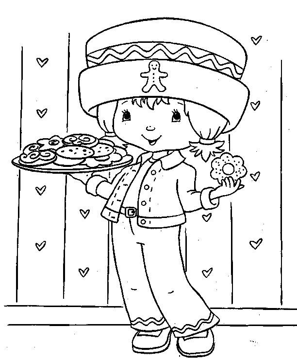 Coloriage charlotte aux fraises gratuit - dessin a imprimer #143