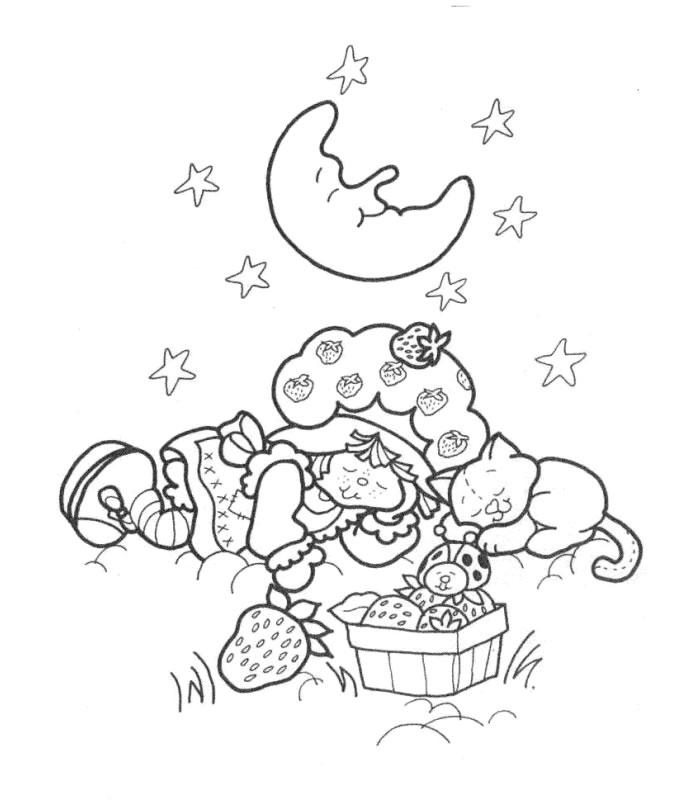 Coloriage charlotte aux fraises gratuit - dessin a imprimer #149