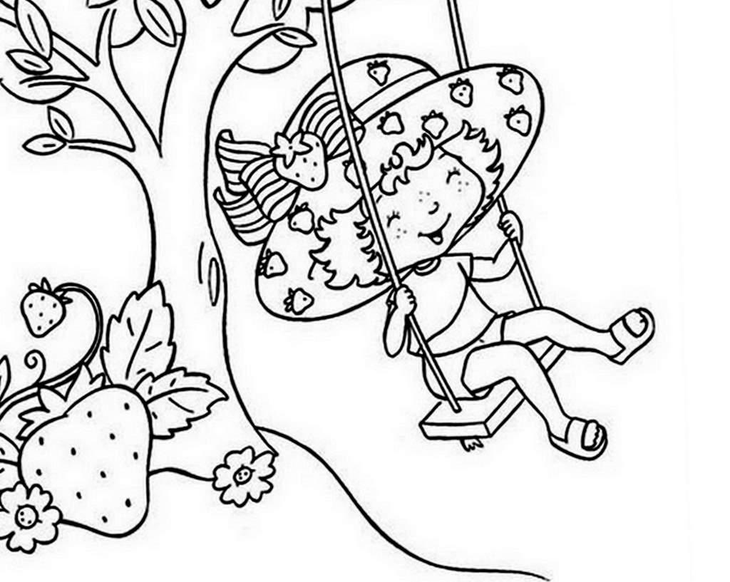Coloriage charlotte aux fraises gratuit - dessin a imprimer #172