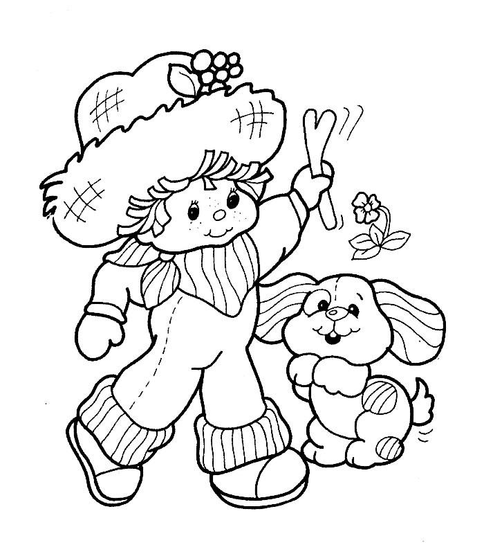 Coloriage charlotte aux fraises gratuit - dessin a imprimer #233