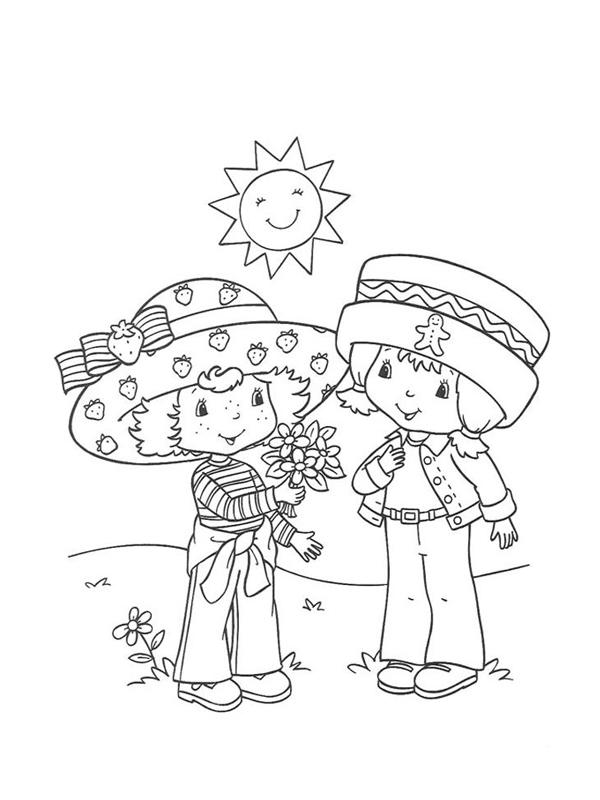 Coloriage charlotte aux fraises gratuit - dessin a imprimer #294