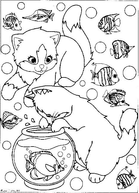 Dessin de chat à imprimer