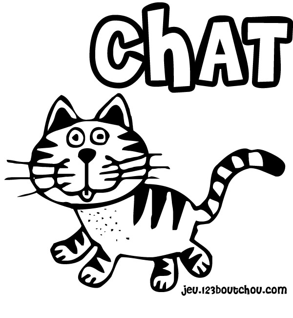 260 dessins de coloriage chat imprimer sur page 14 - Dessin a colorier un chat ...