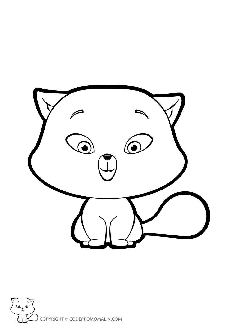 Coloriage de chat en ligne lc47 jornalagora - Coloriage de chat ...